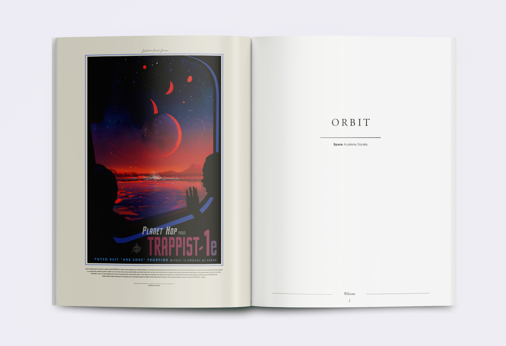 Orbit magazine page Animation - Pages 1 to 80
